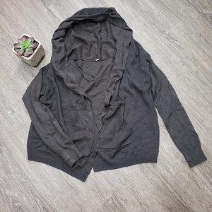 Lululemon Cabin Yogi Wrap Sweater Reversible Sz 8 Green